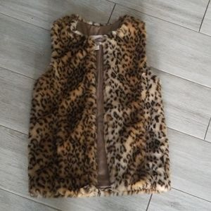 Leopard Vest